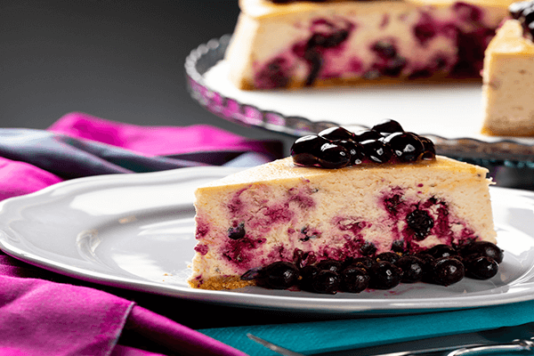 YABAN MERSİNLİ ( BLUEBERY ) CHEESECAKE 1