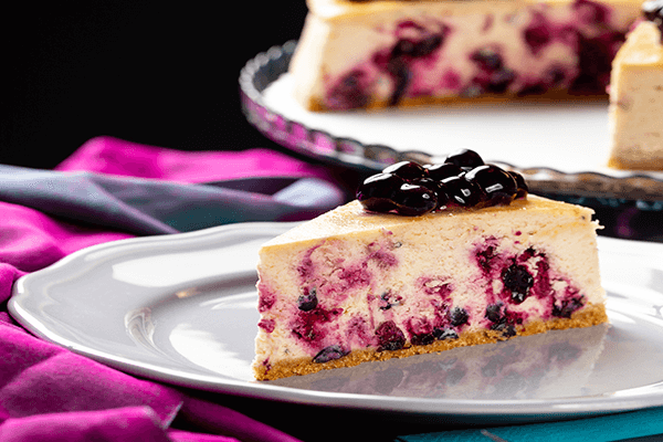 YABAN MERSİNLİ ( BLUEBERY ) CHEESECAKE 2